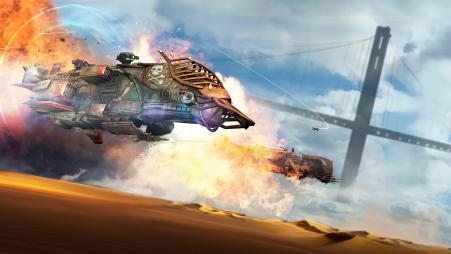 Sandstorm-Pirate Wars--header screen