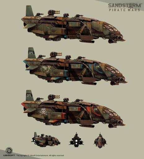 "Sandstorm: Pirate Wars - Concepts by Jordi Palome ""Palo"""